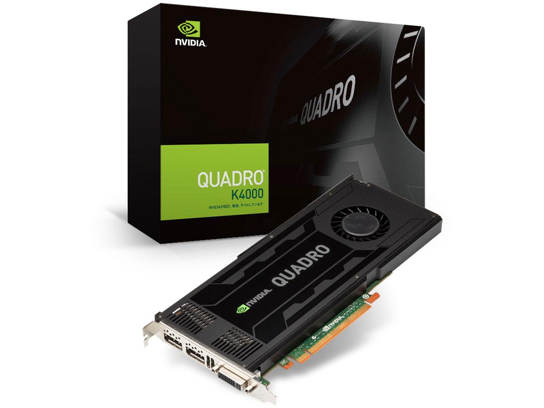 NVIDIA Quadro K4000 thiết kế riêng cho các máy trạm chuyên nghiệp