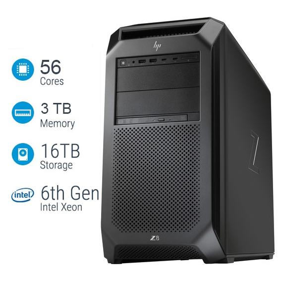 Siêu máy tính trạm HP Z8 G4 Workstation cấu hình khủng