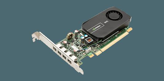 Card màn hình nVIDIA Quadro P600 384 lõi CUDA Pascal, 2GB GDDR5