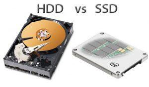 So sánh ổ cứng SSD và HDD