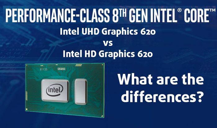 Giới thiệu về Chip Intel HD Graphics-620 và uhd-graphics-620