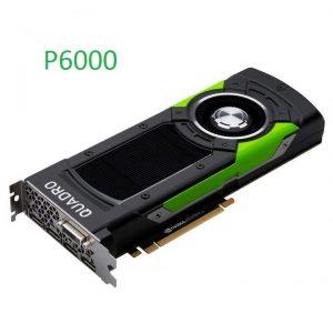 Siêu card đồ họa NVIDIA Quadro P6000 24GB Graphics