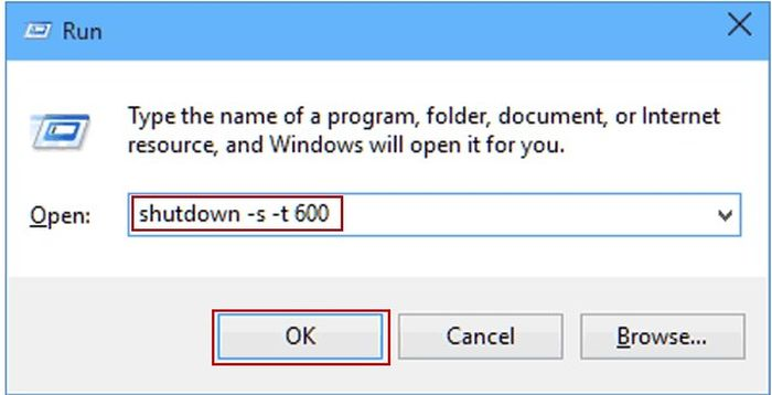 Cách tắt hẹn giờ máy tính win 10