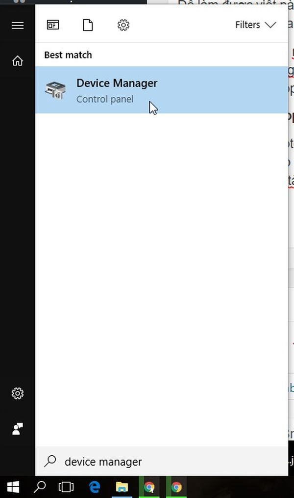 Vô hiệu hóa tắt bàn phím nhờ dùng Device Manager trên Windows