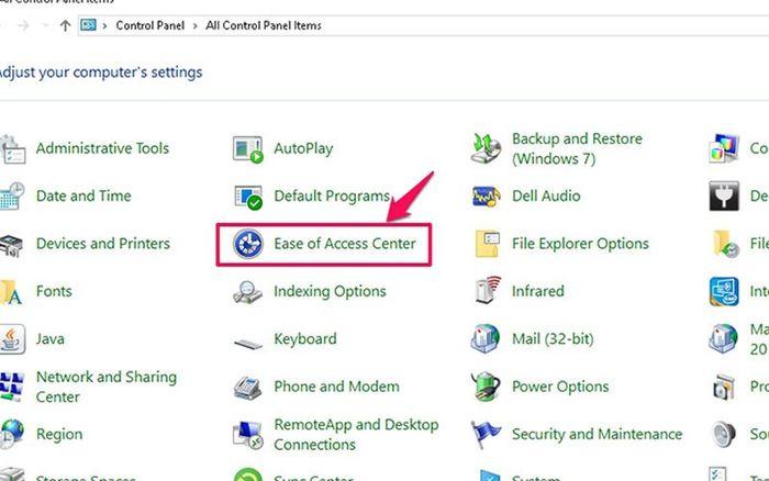 Khắc phục lỗi không gõ được phím trên Windows 7