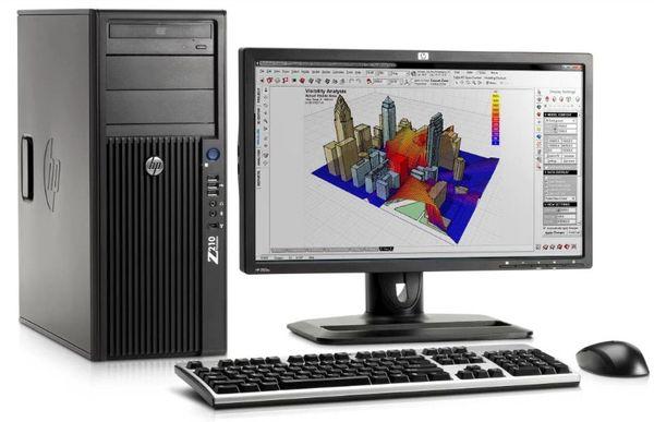 Máy tính workstation chuyển xử lý đồ họa cao