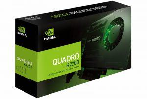 NVIDIA Quadro K2200 sử dụng 4GB RAM, 640 CUDA Core, 128 bit