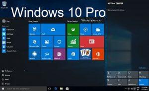 Hệ điều hành Windows 10 pro dành cho máy trạm workstation