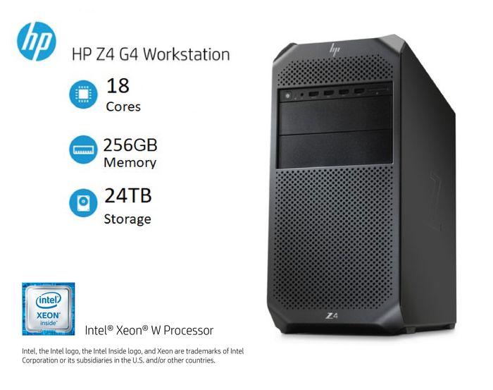 Máy tính trạm HP Workstation HP Z4 G4