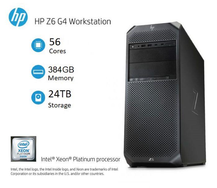 Máy tính trạm HP Workstation HP Z6 G4